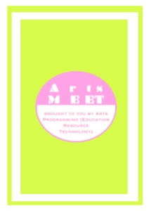 ArtsMEET marked the start of Arts Programming's involvement with the arts community.