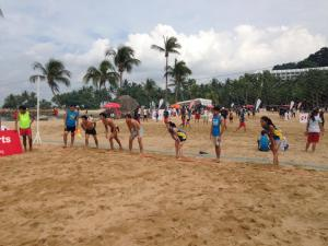 Yale-NUS students at the U Sports Beach Games