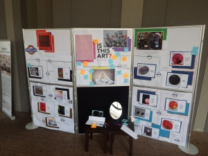 On Oct. 5, students created exhibits to share their trips with the school.