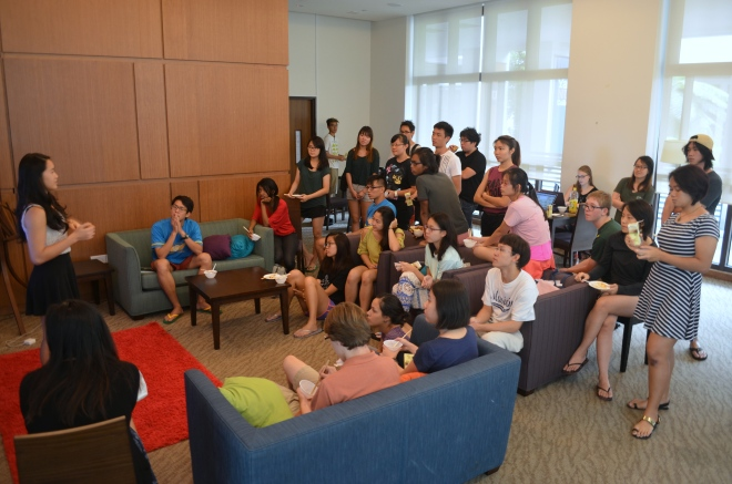 Yale-NUS' Gourmet Club's inaugural welcome tea