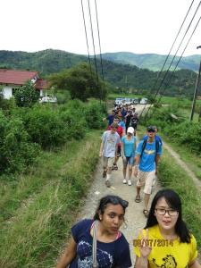 RC1 exploring Laos Credits to Julianne Thomson